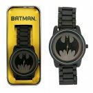 DC Comics Batman Large Face Metal Analog Wrist Watch