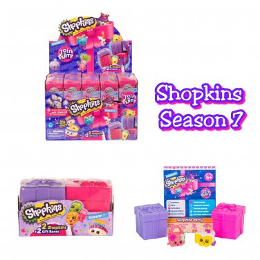 Shopkins Season 7 Join the Party! Mystery Blind 2-Pack Full Case of �30 - #56353