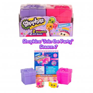 Shopkins Season 7 Join the Party! Mystery Blind 2-Pack �10 Sealed Packs - #56353
