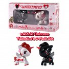 tokidoki Unicorno Valentine's 2-Pack Collectible Figures Set Designed by Simone Legno