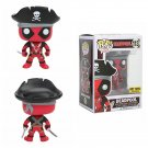 Funko Marvel Pop! #113 Deadpool Pirate Vinyl Bobble-Head Figure Hot Topic Exclusive