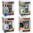 Set of 4 Funko POP! Mystery Horror Blind Box Figures Pinhead Beetlejuice Jason Voorhees Alex DeLarge