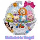 "Disney Tsum Tsum Target Exclusive Glitter Pastel 1"" Figures 6-Pack by Jakks Pacific"