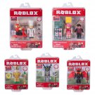 Set of 5 Roblox Core Figure Packs #10706, #10707, & #10708 & Game Packs #10726 & #10727 by Jazwares
