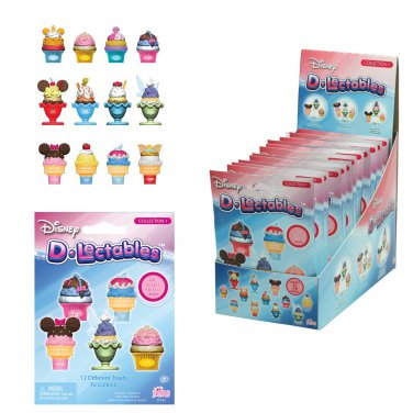 Disney D-lectables Collection 1 Mystery Blind Bag Figures Case of �12 Sealed Packs by Imperial