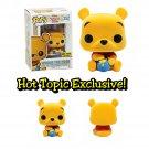 FUNKO Disney Winnie The Pooh POP! Winnie The Pooh (Flocked) Figure Hot Topic Exclusive