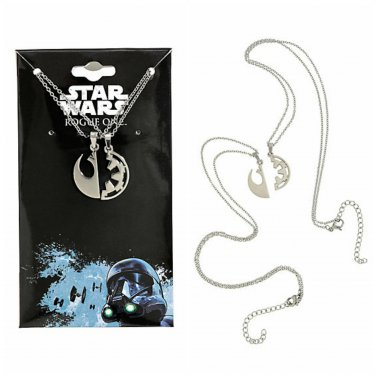 Star Wars: Rouge One Symbols Best Friend BFF Pendant Necklace Set by SalesOne