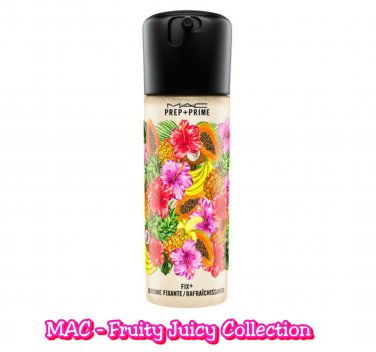 MAC PREP + PRIME FIX + Coconut - FRUITY JUICY COLLECTION 100ml / 3.4 US fl oz