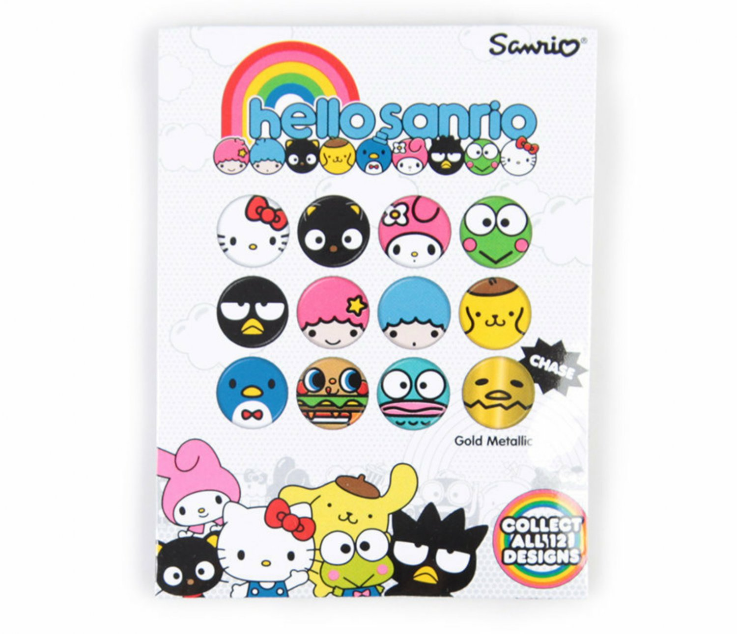 Loungefly Sanrio Characters Hello Sanrio Mystery Blind Pack Button Pin - �24 Sealed