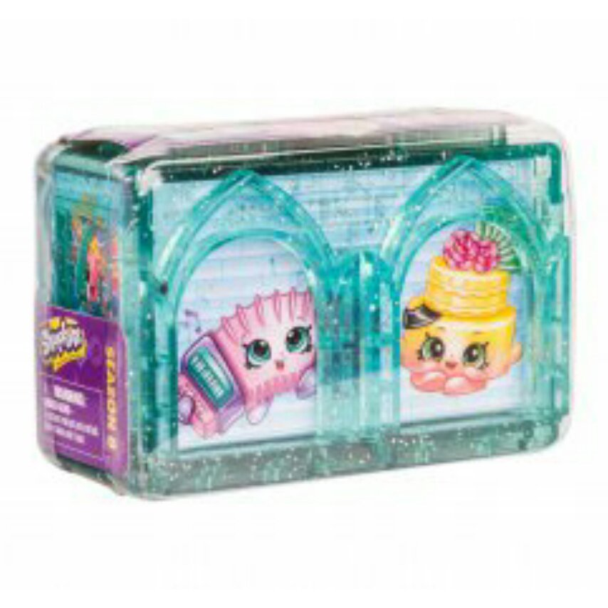 Shopkins Season 8 World Vacation (Europe) Mystery Blind 2-Pk Twin Rooms x10 - #56512