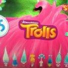 DreamWorks Trolls Movie Surprise Mini Figure Series 5 Mystery Blind Bag Case of ×24 Packs by Hasbro