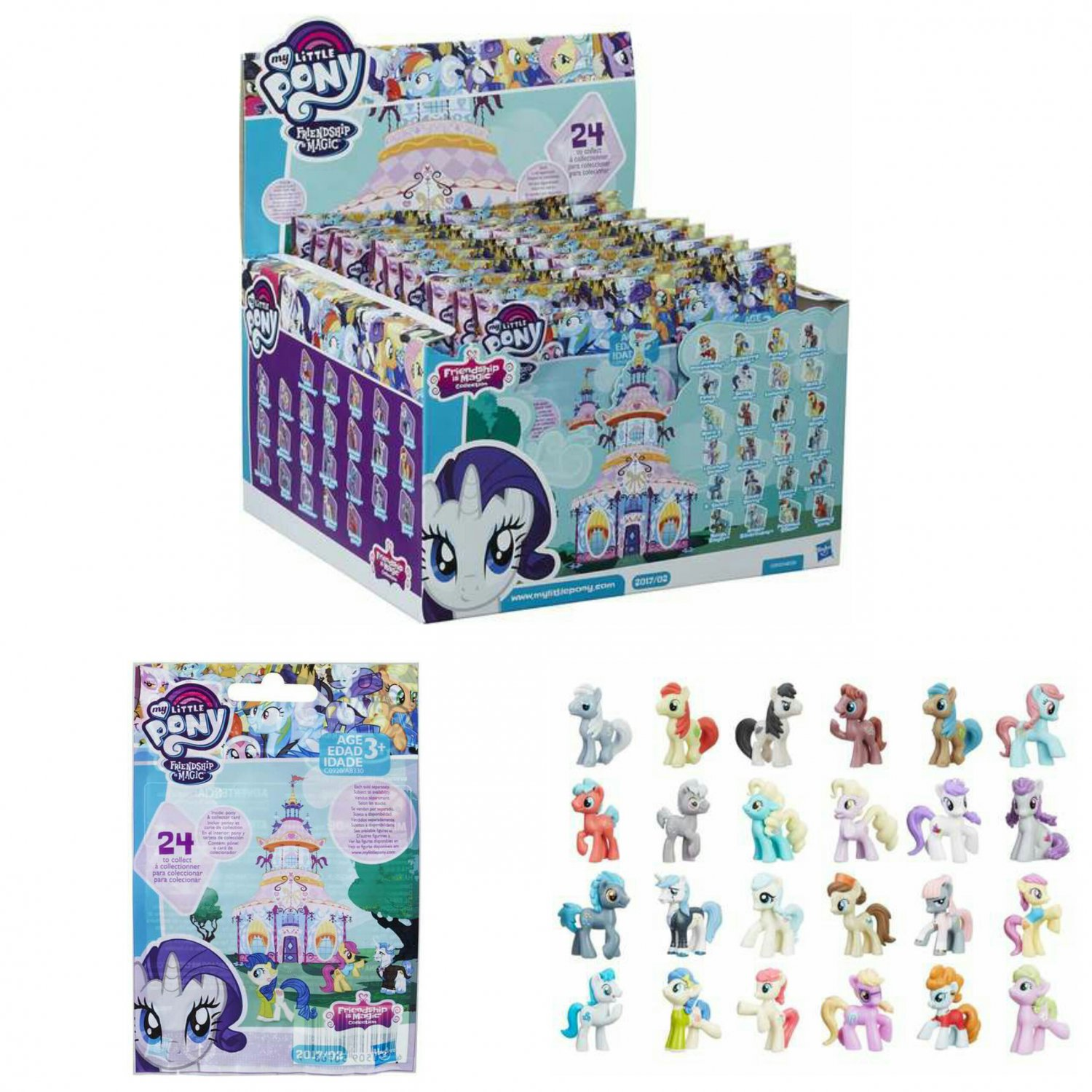 My Little Pony MLP Friendship is Magic Series / Wave 20 Mystery Blind Bag Figure �24 Sealed Packs