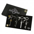 Limited Edition Disney Kingdom Hearts Keyblade Key Chain Set 2017 Summer Convention Exclusive SDCC