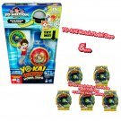 Yokai Watch Model Zero + Series 2 Yo-Motion Medal Mystery Blind Bag ×5 Sealed Packs by Hasbro