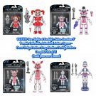 """Set of 4 Funko Five Nights at Freddy's FNAF Sister Location 5"""" Articulated Action Figures (Ennard)"""