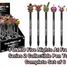 FUNKO POP! Collectible Pen Toppers Five Nights at Freddy's FNAF Series 2 Complete Set of 6