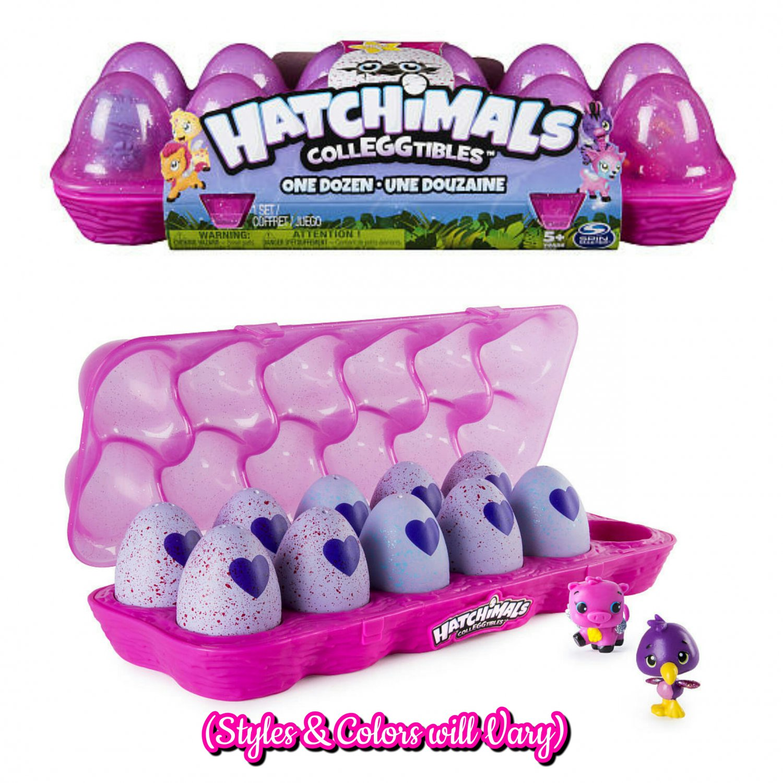 Hatchimals CollEGGtibles Season 1 Egg Carton 12-Pack #6038308 (1 Exclusive Flamingoose)