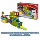 Chuggington Die-Cast Fix & Go Repair Shed Playset by Learning Curve - #LC54202