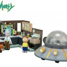 McFarlane Toys Rick & Morty (adult swim) Spaceship & Garage Buildable Construction Set 293 PCS
