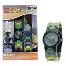 LEGO Star Wars Boba Fett Buildable Watch with Toy - 34 Pieces - #8020363
