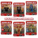 Set of 6 Roblox Core Figure Packs by Jazwares #10712, #10713, #10714, #10715, #10716, & #10717