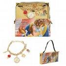 Disney Beauty (Belle) & The Beast Charm Bracelet Wrist Watch by Accutime