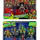 Teenage Mutant Ninja Turtles Rooftop Ruckus Battle Pack 1 & 2 by Playmate Toys Target Exclusive