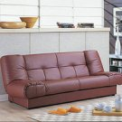 Leather Sofa Bed Foldable PRS6F168