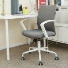 Black and white computer chair home modern simple mesh swivel chair