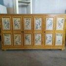 Rustic furniture antique cabinet