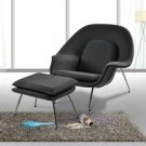 Womb Chair in Grey Color