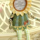 Sunflower doll photo frame PRS2D27.1