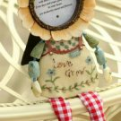 Sunflower doll photo frame PRS2D27.2