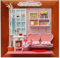 Mini house with furniture PRS8D14.11