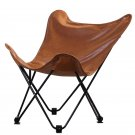 Hardoy Butterfly Chair in PU leather