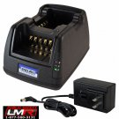 Power Products Dual Unit Rapid Charger for Bendix King KNG P150 P400 P500 P800
