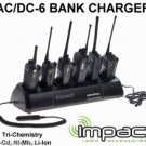 AC/DC Gang Bank Charger for  Bendix King DPH and DPH-CMD EPH LPH