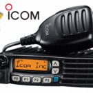 ICOM F6021 UHF 400-470 MOBILE 45W 128CH FIRE POLICE HAM EMS RACING HAM BASE