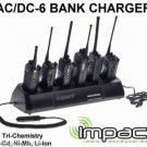 AC/DC Gang Bank Charger for TK-190/290/390, TK-260/360, TK-270, TK-272G,TK-370,