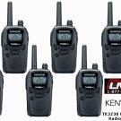 6 New Kenwood PROTALK TK-3230DX 6CH UHF 1.5W Radios