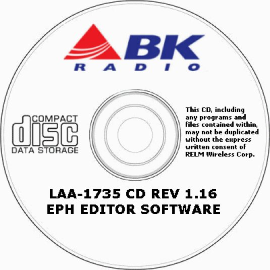 OEM LAA-1735 BENDIX KING PROGRAMMING SOFTWARE EPH