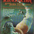 The Best from Fantasy & Science Fiction 19th Series edited by Edward L. Ferman