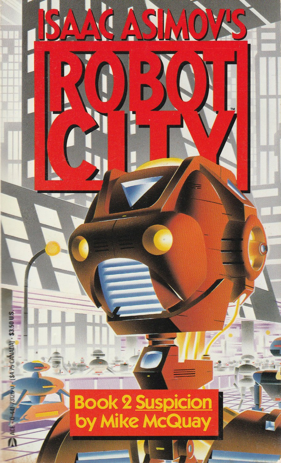 Isaac Asimov's Robot City Book 2 by Mike McQuay