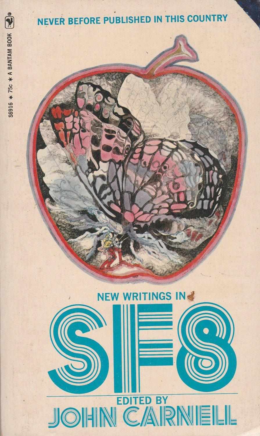 New Writings in SF8 edited by John Carnell