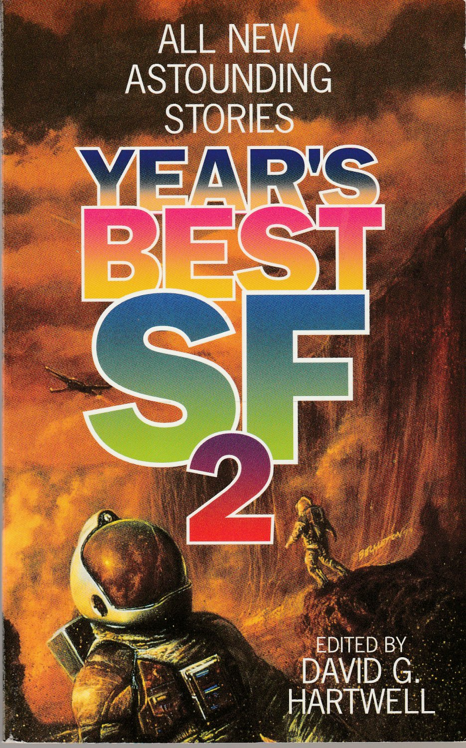 Year's Best SF 2 edited by David G. Hartwell 4thPr