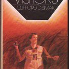 The Visitors by Clifford D. Simak – hardback BCE