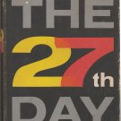 The 27th Day by John Mantley - hardback BCE