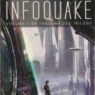 Infoquake by David Louis Edelman – Paperback 1st Printing