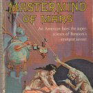 The Mastermind of Mars by Edgar Rice Burroughs – Ace Paperback F-181
