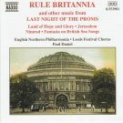 Rule Britannia and other music from Last Night of the Proms CD